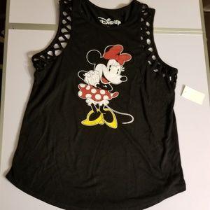 Disney Minnie Mouse lattice tank top